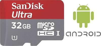 SanDisk microSDHC-Karte 32 GB Ultra® Android mit 80 MB/s und Memory Zone Android