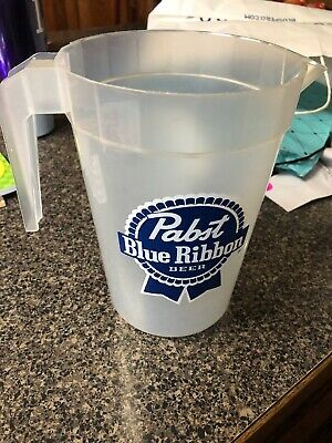 Plastic Pabst Blue Ribbon Beer Pitcher New Orleans
