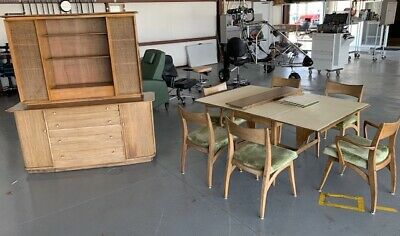 Awesome Twin Heywood Wakefield Mid Century End Tables Model 337G Beatyapartments Chair Design Images Beatyapartmentscom