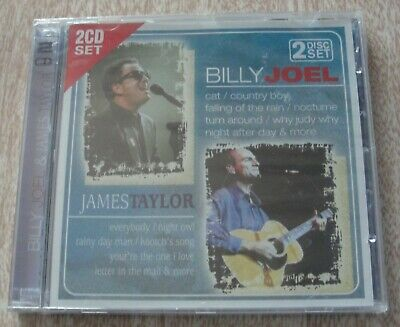 Billy Joel & James Taylor Double CD Album - (New & Sealed)