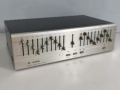 TELEDYNE RA-992 Graphic Equalizer Made in Japan