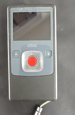 Flip Video Ultra Video Camcorder , Black, Untested With Original Box  #113