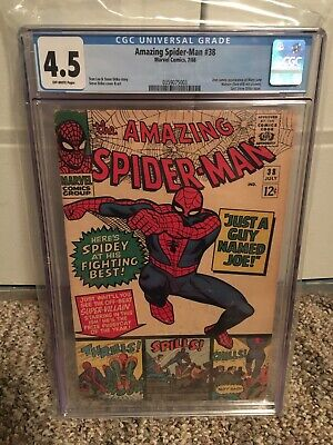Amazing Spider-Man 38 CGC 4.5 Off White Pages