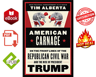 📚American Carnage: On the Front Lines of the Republic 📩🎁FAST DELIVERY🎁(EPUB)