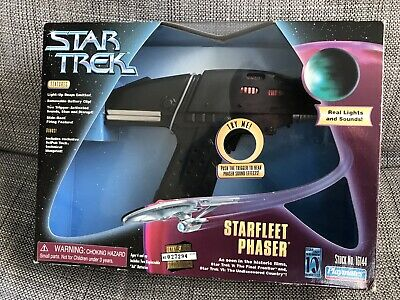 Star Trek VI - Phaser - Playmates - Excellent Condition/Boxed RARE ITEM