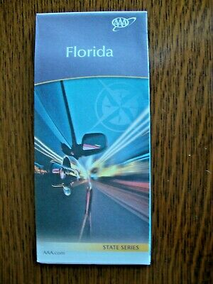AAA FLORDIA FL STATE Travel Road Map Vacation Roadmap 2020 DISNEY FREE SHIP!
