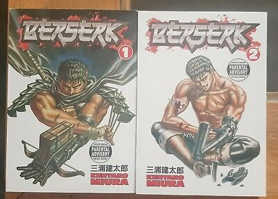 Berserk Manga Volumes 1 And 2
