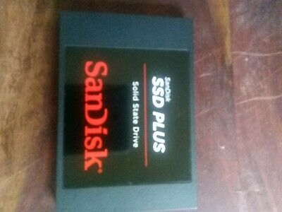 "SanDisk Plus 120 GB, Internal, 2.5"" (SDSSDA120GQ25) Solid State Drive"