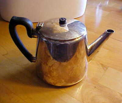 Beautiful Old Elkington & Co. Silver Plated English Teapot From England