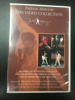 Freddie Mercury The Video Collection DVD