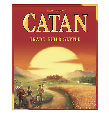 Settlers of Catan Board Game (FREE & FAST SHIPPING)