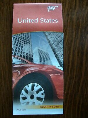 AAA UNITED STATES USA MAP Travel Road Map Vacation 2019-2020 FREE SHIPPING!