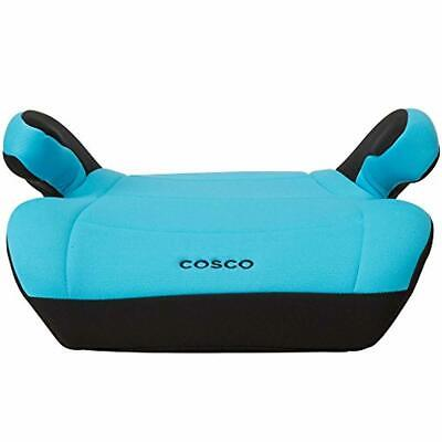 Topside Booster Car Seat Lightweight Backless Chair Kids Safety Travel Turquoise
