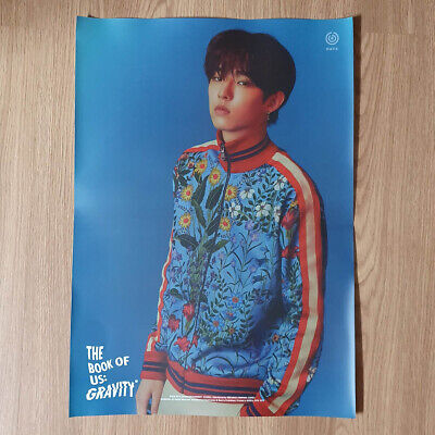[Poster Only] Jae Day6 The Book Of Us Gravity Hard Case Tube Packing Kpop