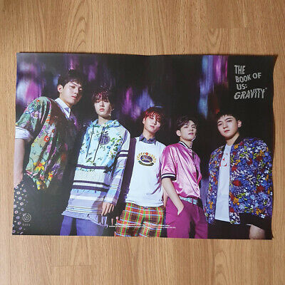 [Poster Only] Day6 Group The Book Of Us Gravity Hard Case Tube Packing Kpop