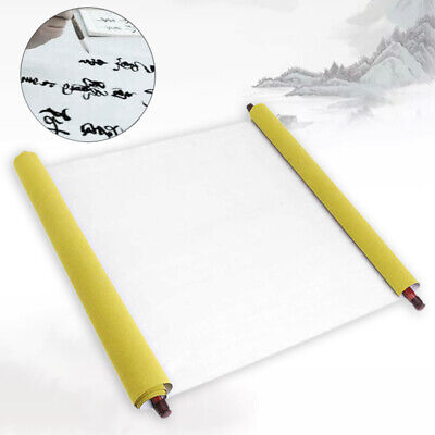 2PCS Chinese Magic Cloth Water Paper Calligraphy Fabric 1.5m Reusable Practice%F