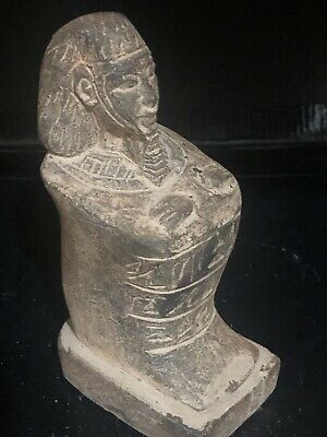 Rare Large Ancient Egyptian Seated Sennefer  (18th Dynasty)