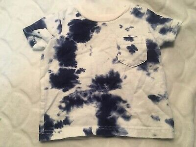 Carters Baby Boy Tie Dye Tshirt Size 6 Months