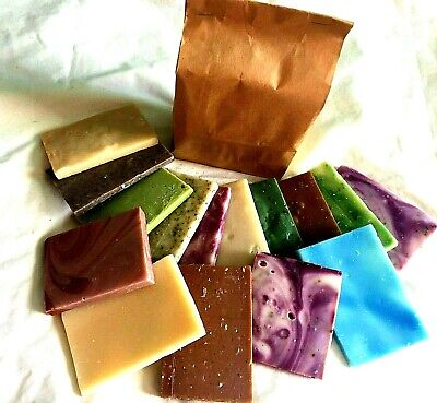 Natural soap offcuts/guest soap/sample