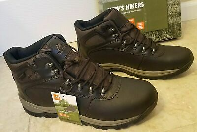 272c8e0c071 MENS OZARK TRAIL Waterproof Bronte Outdoor Sz 14 Hiking Leather ...