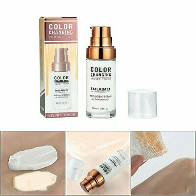 TLM Flawless Color Changing Foundation Makeup Base Face Liquid Cover Concealer L