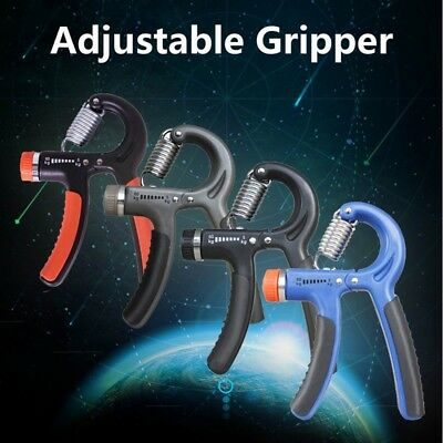 Adjustable 5-60Kg Forearm Exerciser Heavy Grip Hand Gripper Training Tool #smx