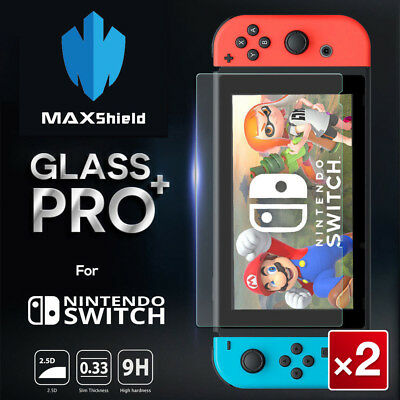 MAXSHIELD Nintendo Switch Lite Tempered Glass Screen Protector
