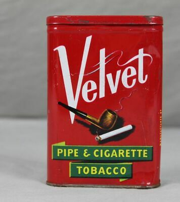 Velvet , Pipe & Cigarette Tobacco - Americas smoothest Smoke , Blechdose   /S96