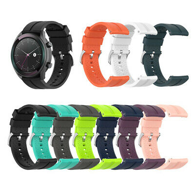 Wristband Silicone Bracelet Strap 20mm Watch Band For Huawei Watch GT Elegant