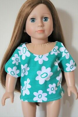 Doll Clothes I8 Inch American Girl Dolls Our Generation Journey Cut Out Arm Top