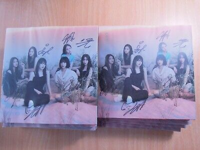 GFriend  - Fever Season (7th Mini Promo) with Autographed (Signed)