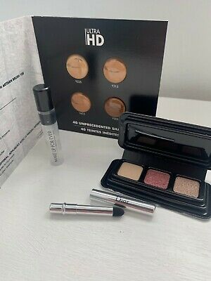 Make Up For Ever / Foundation + Eye Shadow + Brush + Setting Spray Sample Set