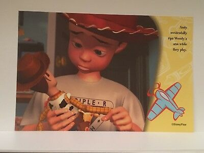 Toy Story 2 Advertising Postcard #3 Andy. Disney/Pixar, Collectable 2000