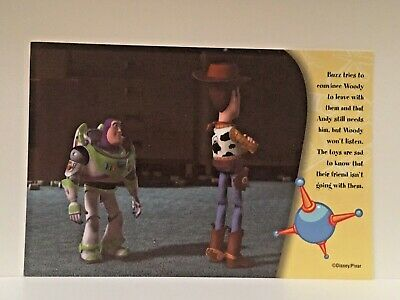 Toy Story2 Advertising Postcard #25 Buzz & Woody Disney/Pixar, Collectable 2000