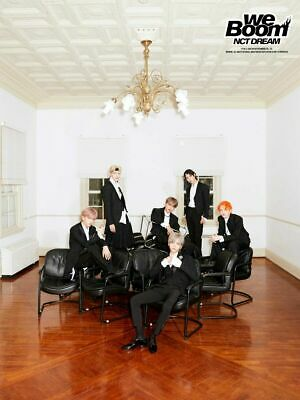 NCT DREAM [WE BOOM] 3rd Mini Album WE Ver CD+POSTER+Foto Buch+3p Karte SEALED
