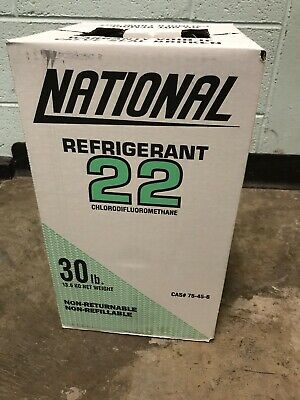 R-22 Refrigerant 30lbs Cylinder New! Factory Sealed! LOCAL PICKUP ONLY