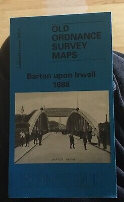 Barton Upon Irwell 1888 Manchester Area Old Ordnance Survey Map New Edition