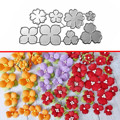 Flowers Cutting Dies Metal Stencil DIY Scrapbooking Paper Card Embossing Craft
