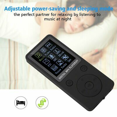 Support 128GB TF Card MP3  MUSIC MEDIA PLAYER Portable LCD SCREEN FM VIDEO UK