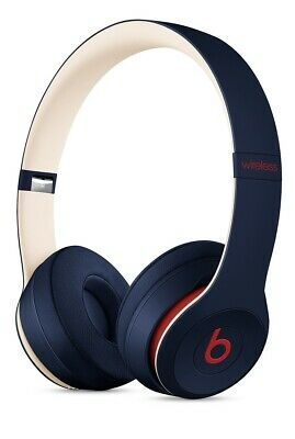NEW  Beats Solo3 Wireless Headphones - Beats Club Collection - Club Navy