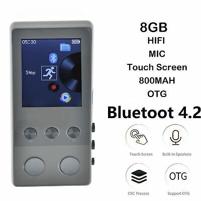 8GB Portable BT MP3 Player Lossless Sound HIFI MP4 Music Player Bluetoot speaker