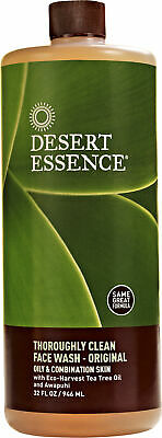Thoroughly Clean Face Wash, Desert Essence, 32 oz