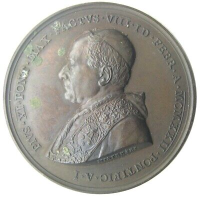 MEDAL - Pius XI year I of the Pontificate 1922 - Christ & the Apostles - AE  UNC