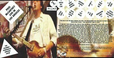 Paul Mccartney Cd Live In Los Angeles***Very Good Condition***