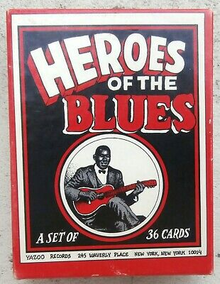 Crumb Heroes of The Blues EO 1980 A set of 36 cards Yazoo Records