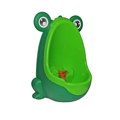 Green Frog Baby Potty Boy Training Urinal Fun Toddler Toilet Trainer