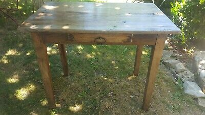Rustic small table French