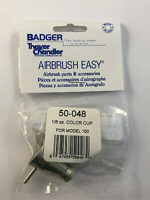 Badger Airbrush Co. 50-048 1/8 oz Color Cup for Model 100  New in Package