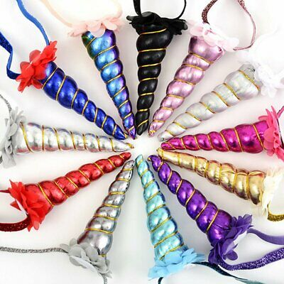 Hair Headband Cosplay Costume perfect Decorative party props Unicorn Horn Head T