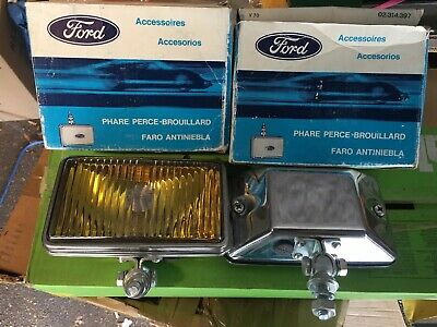 Phares Antibrouillard Fog Lights Carello 460 Auto Ancienne Old Cars Ford